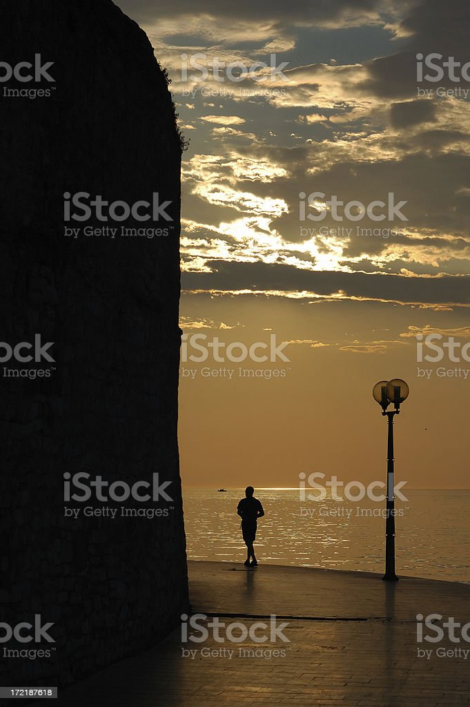 One man only royalty-free stock photo