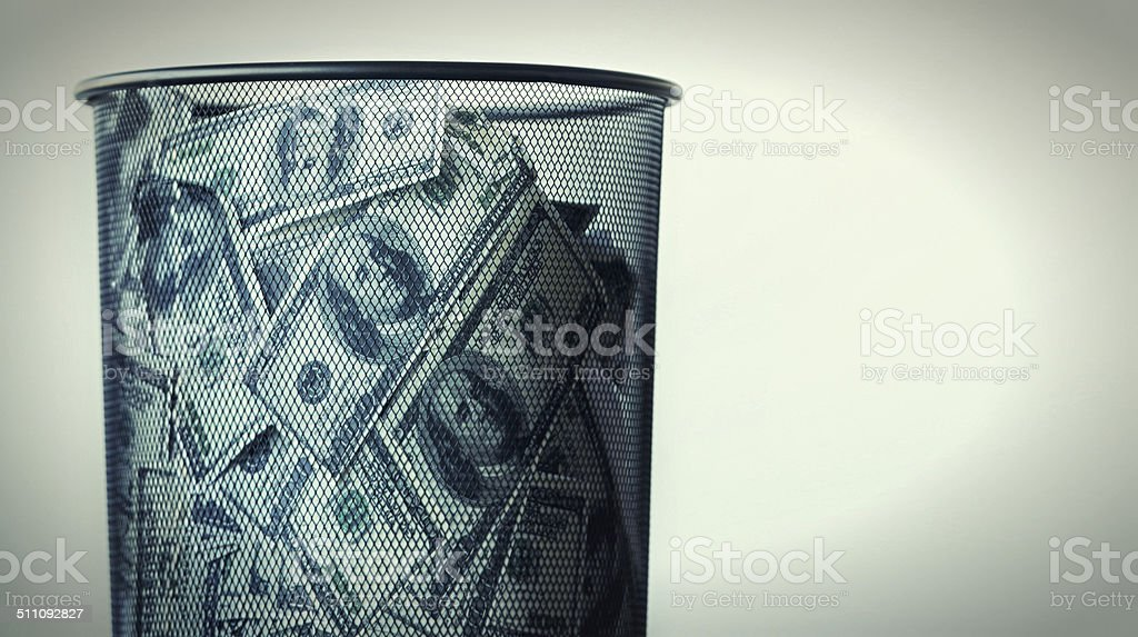 One man's trash is another man's treasure stock photo