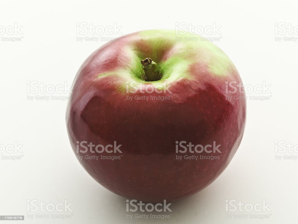 one mcintosh apple stock photo