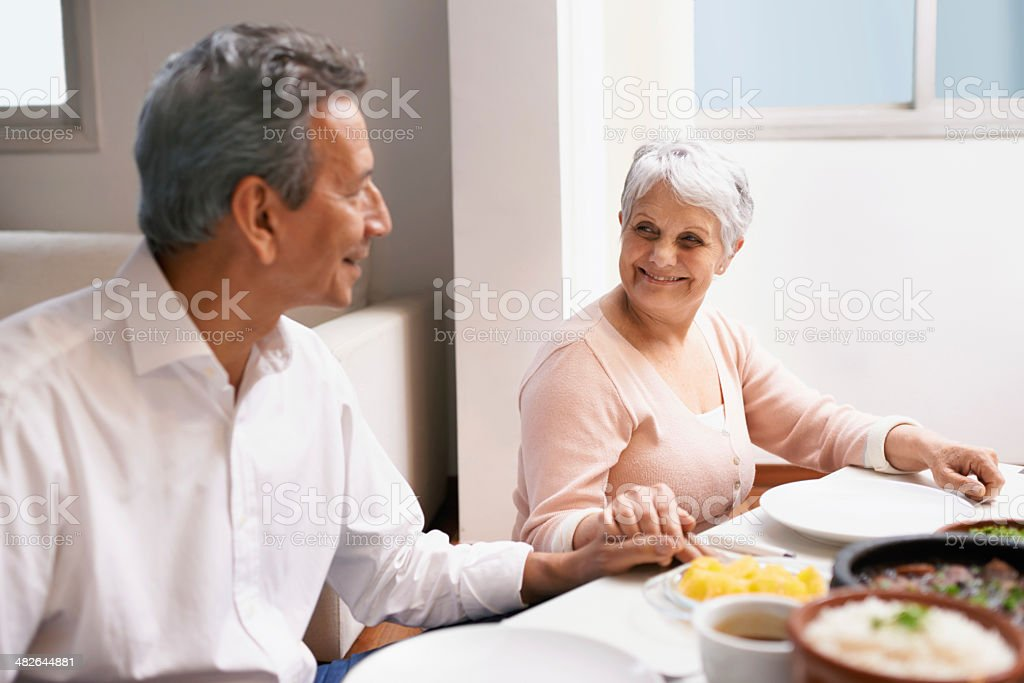 One meal of many more together royalty-free stock photo