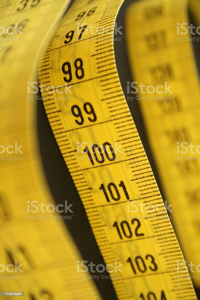 One meter long royalty-free stock photo