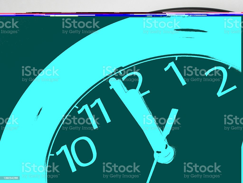 One Minute 'til Midnight royalty-free stock photo