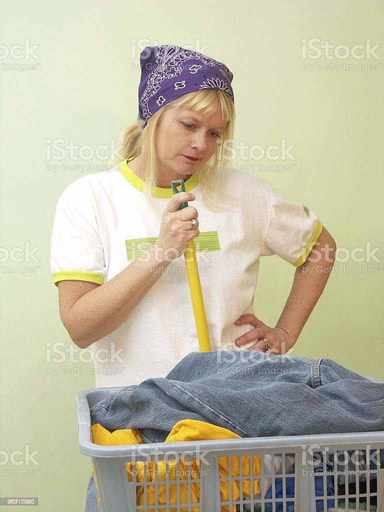 One More Chore royalty-free stock photo