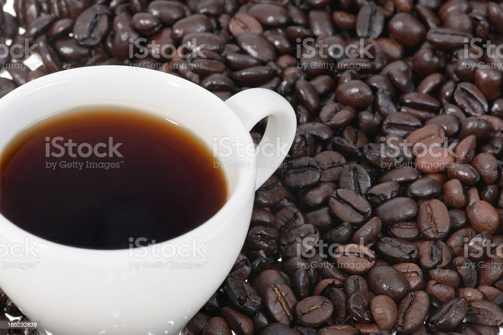 one more coffee please royalty-free stock photo