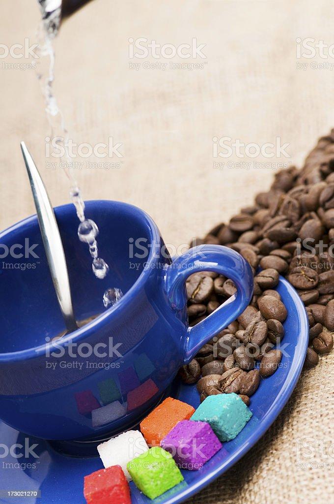 one more cooffee please stock photo