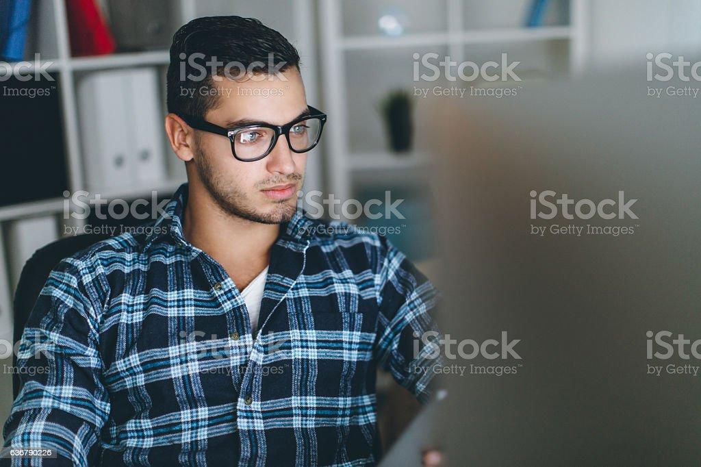 One more job stock photo