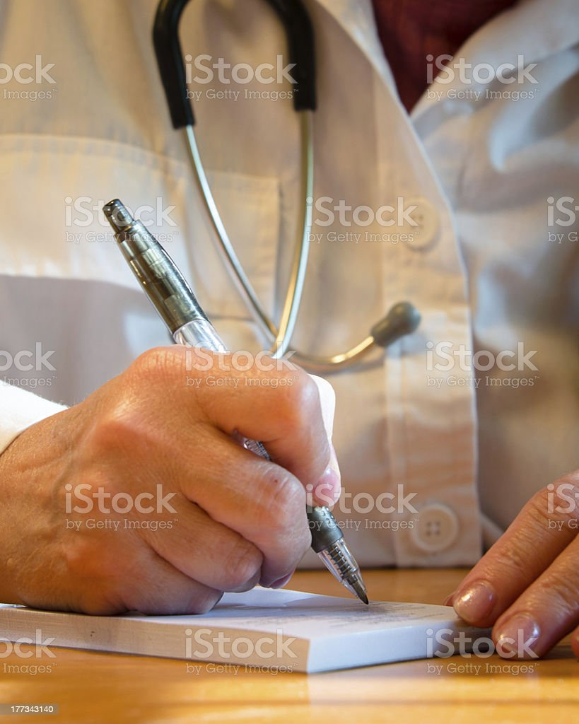 One More Script royalty-free stock photo