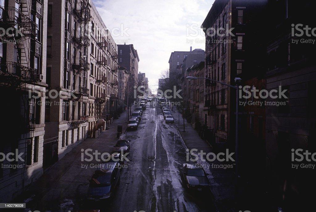 One Morning in Harlem stock photo