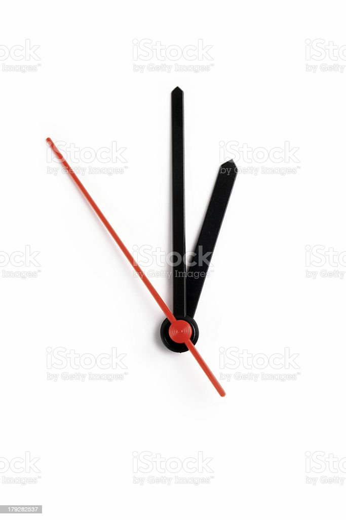 One o'clock stock photo