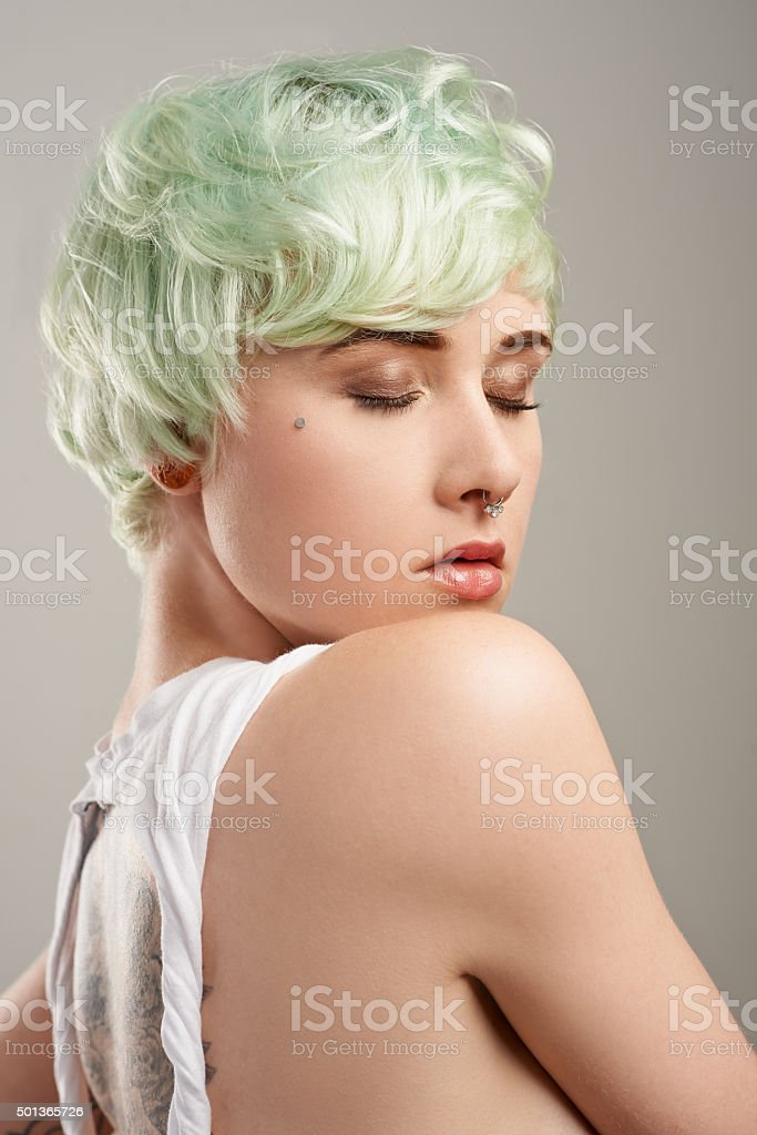 One of a kind stock photo