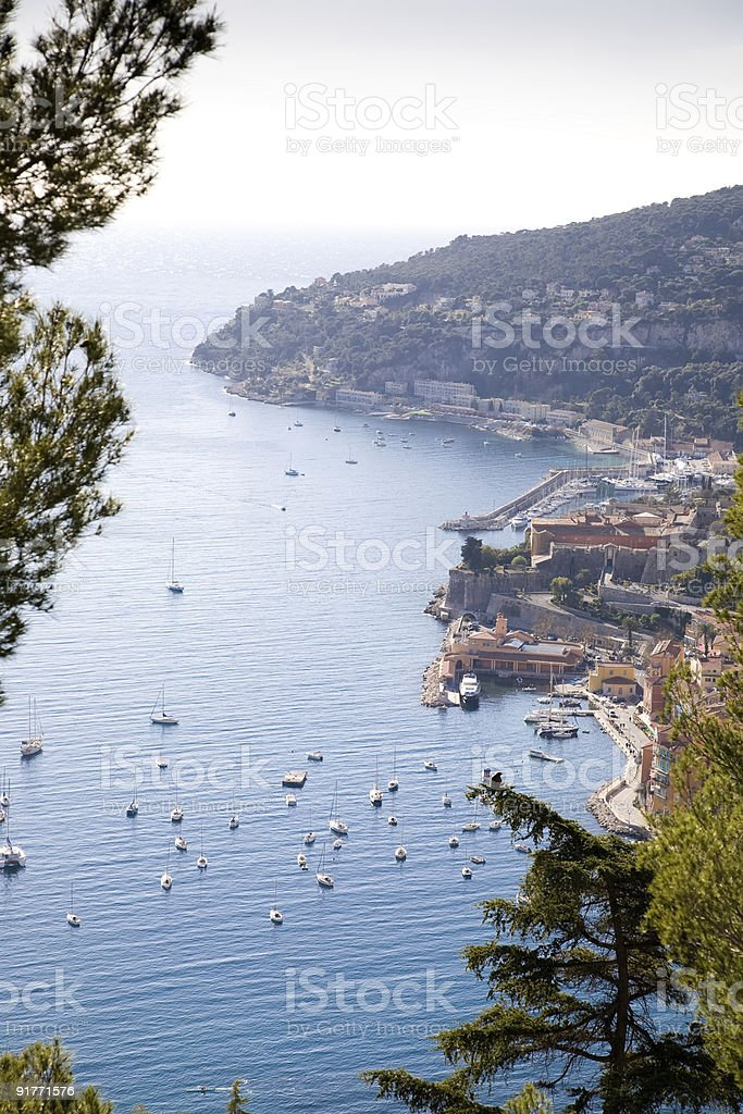 One Of Mediterranean Resort View. France. royalty-free stock photo