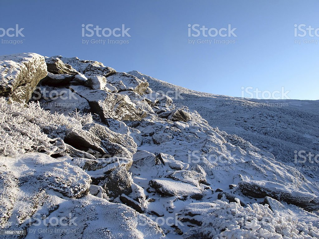 One of Mt. Jefferson's Caps and Summit royalty-free stock photo