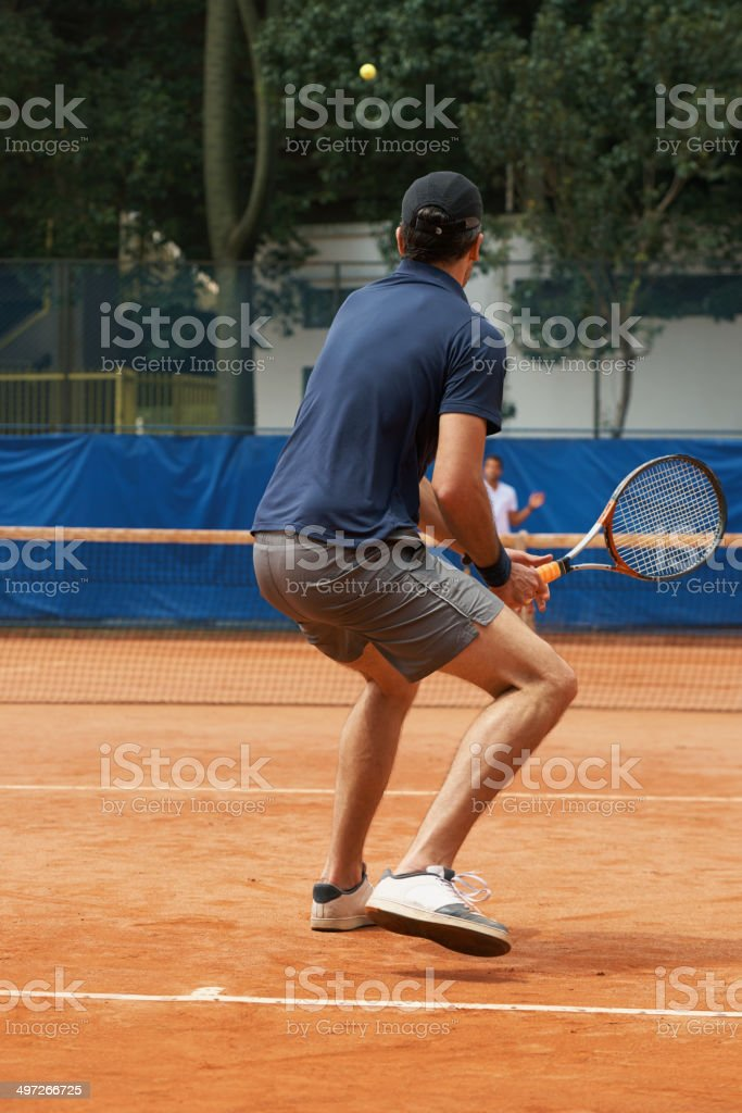 One of tennis' great rivalries royalty-free stock photo