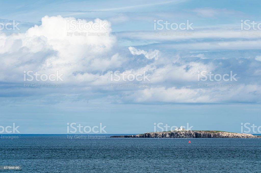 One of the inner Farne island off the English coast. stock photo