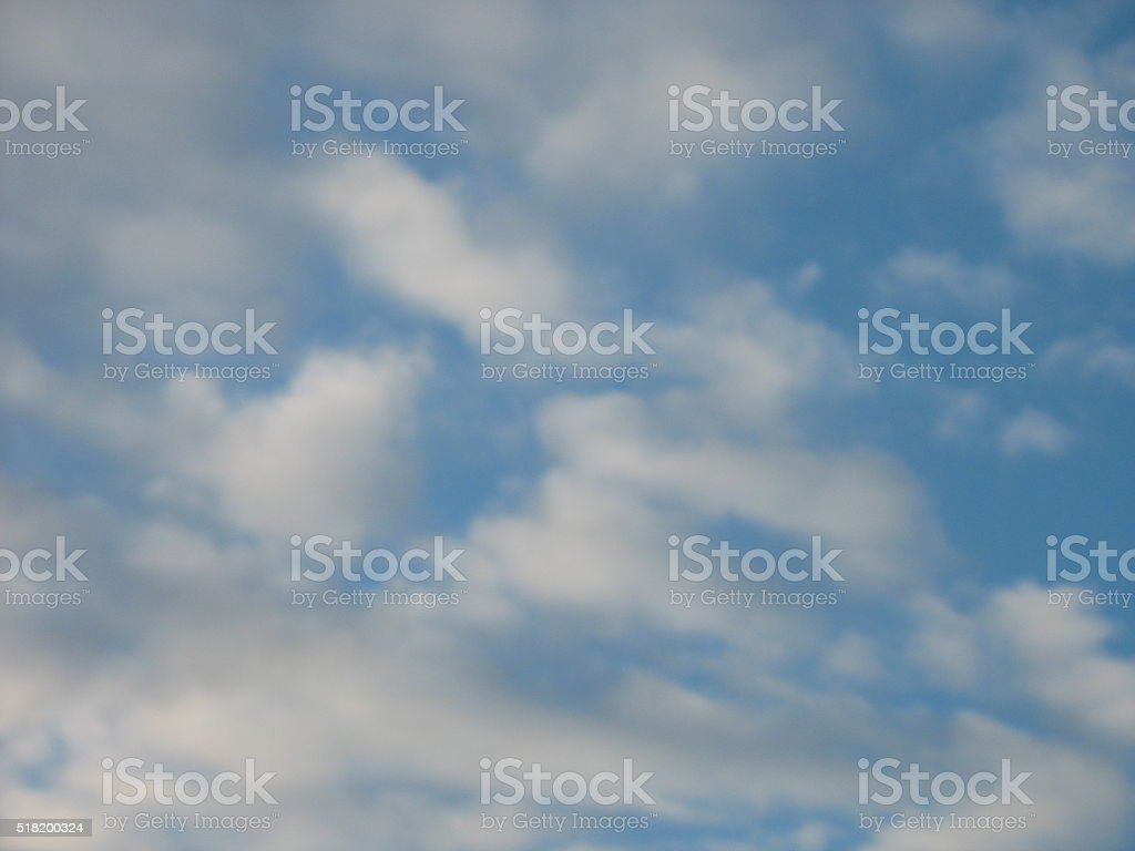 one photo of the sky stock photo