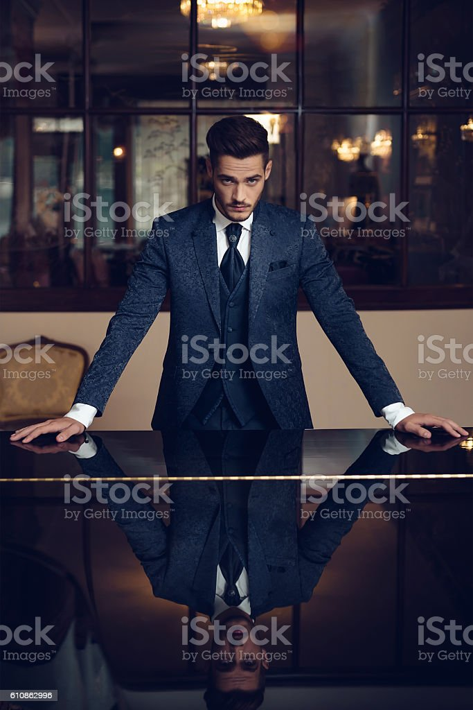 Man stock photo