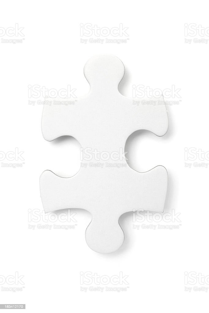 One Puzzle stock photo