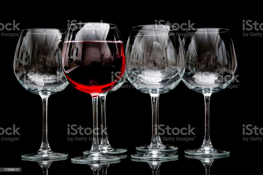 one red wine please, royalty-free stock photo
