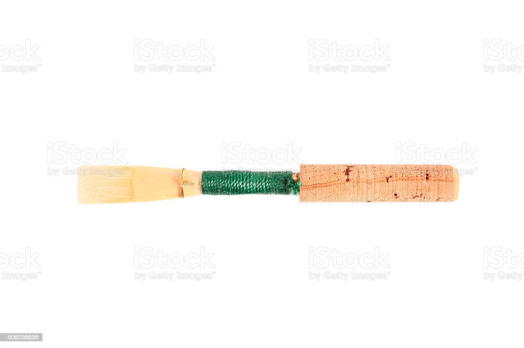 one reed woodwind stock photo