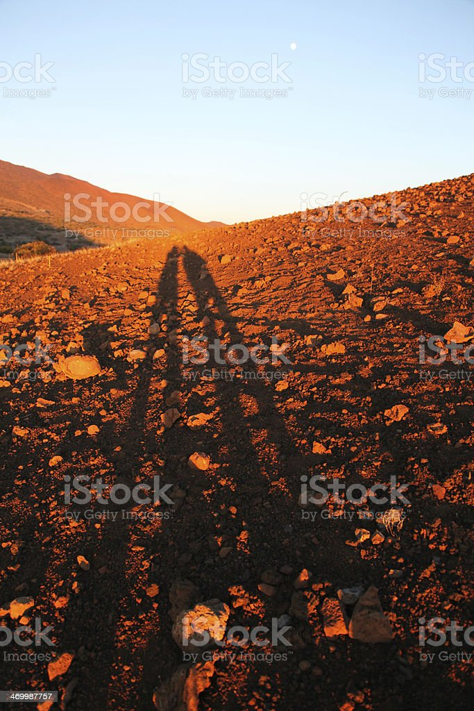'One small step for man.......' royalty-free stock photo