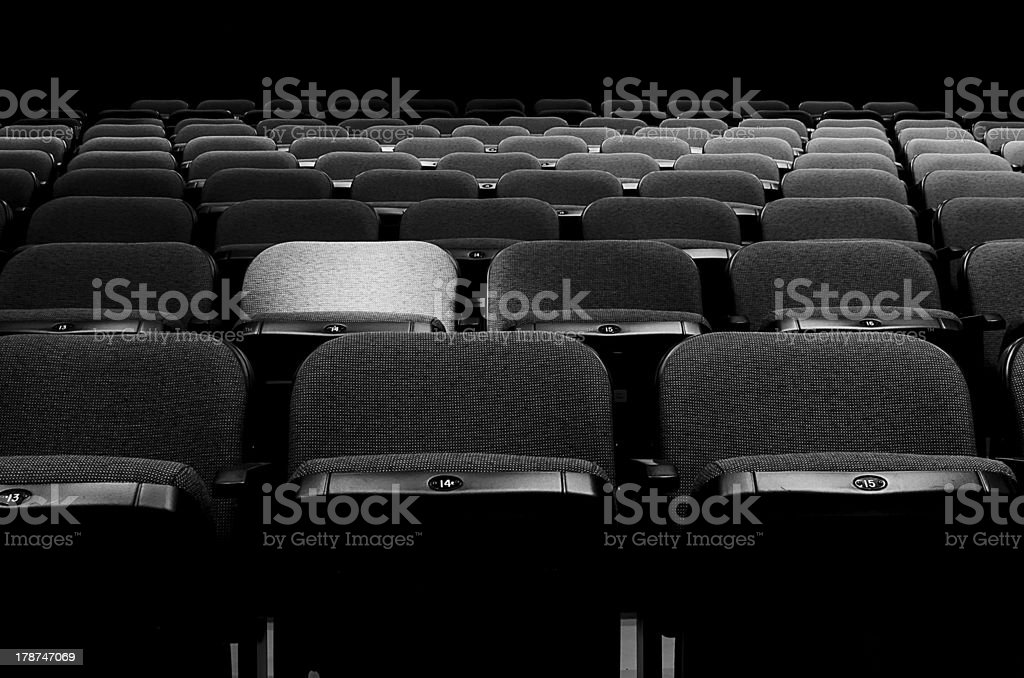 One Solo Seat stock photo