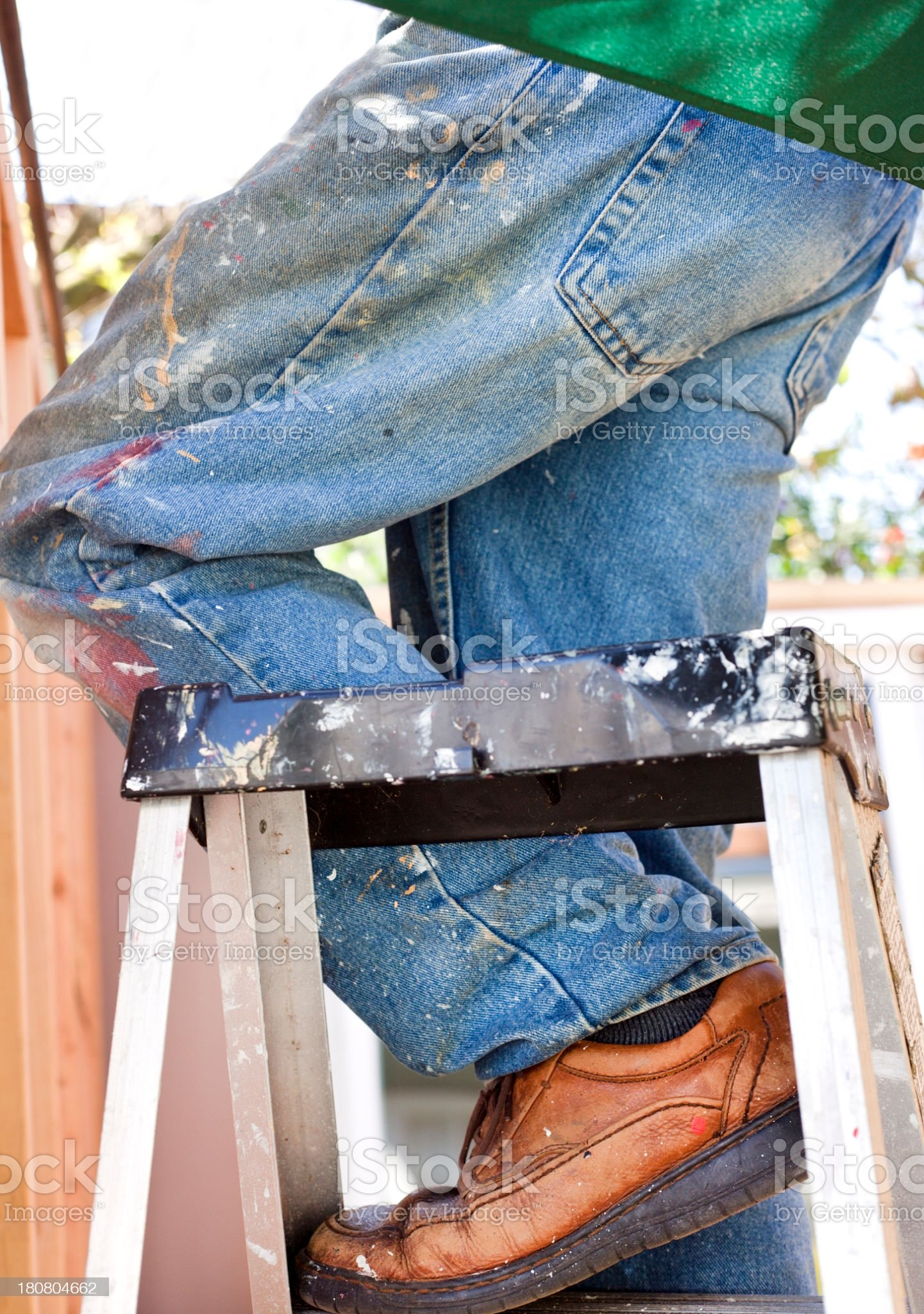 One Step royalty-free stock photo