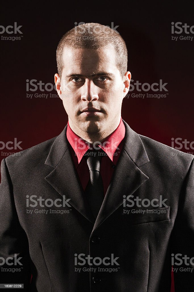 One Tired Businessman royalty-free stock photo