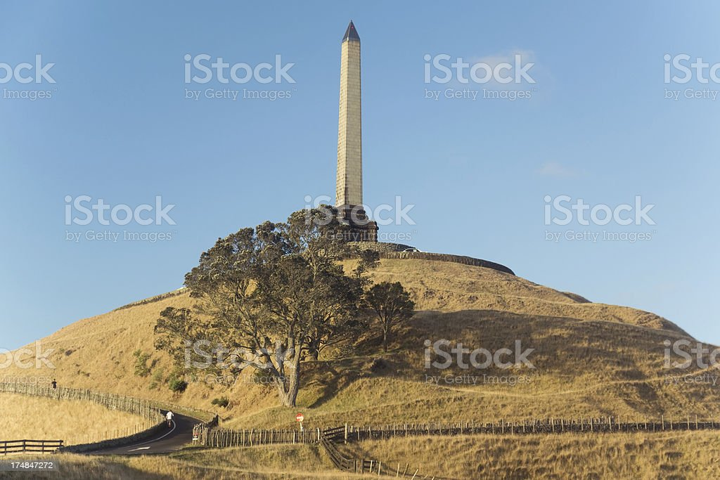 One Tree Hill royalty-free stock photo