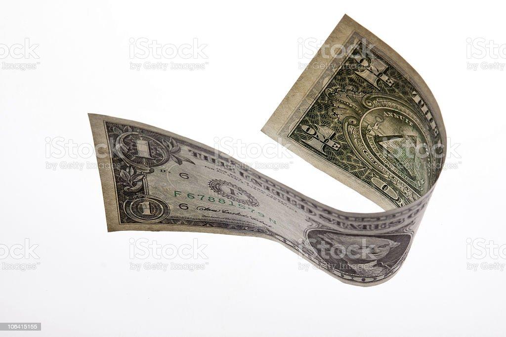 Um U.S.dollar foto de stock royalty-free