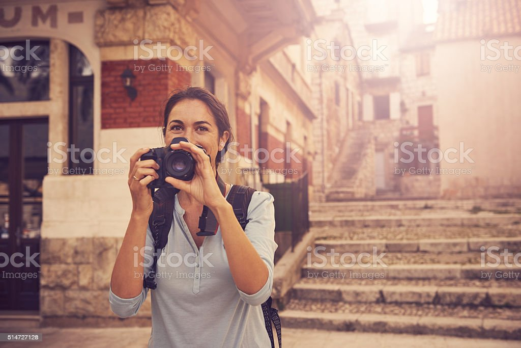 One vacation, so many memories stock photo