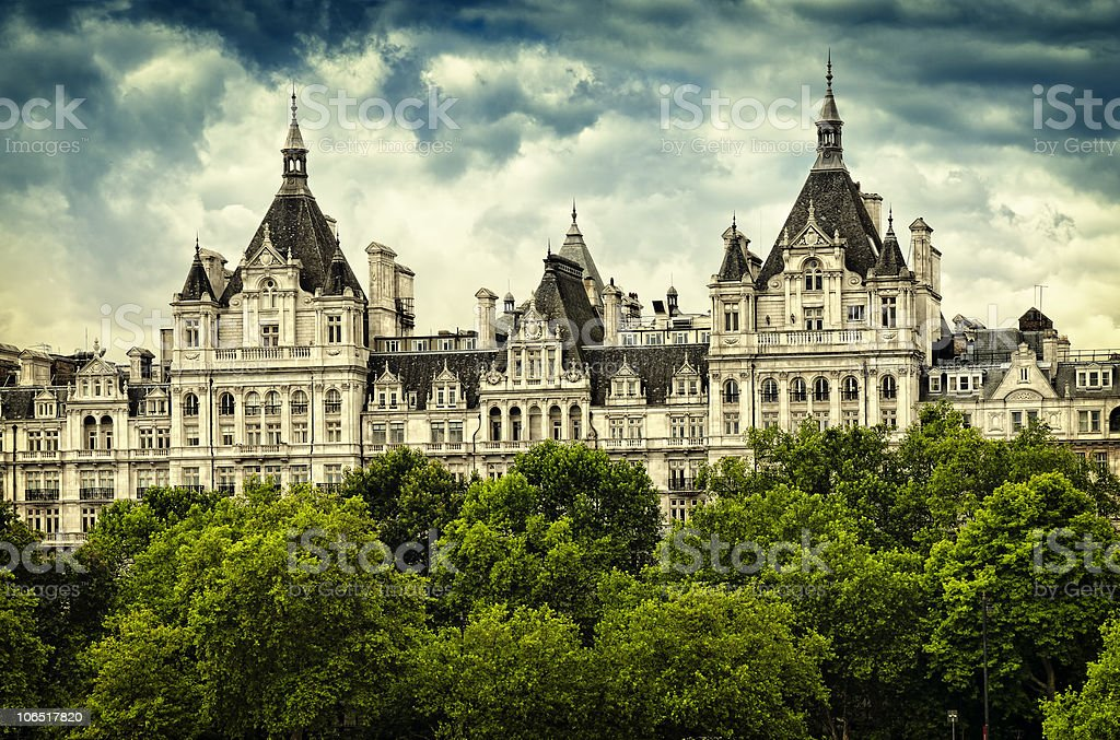 One Whitehall Place, London stock photo