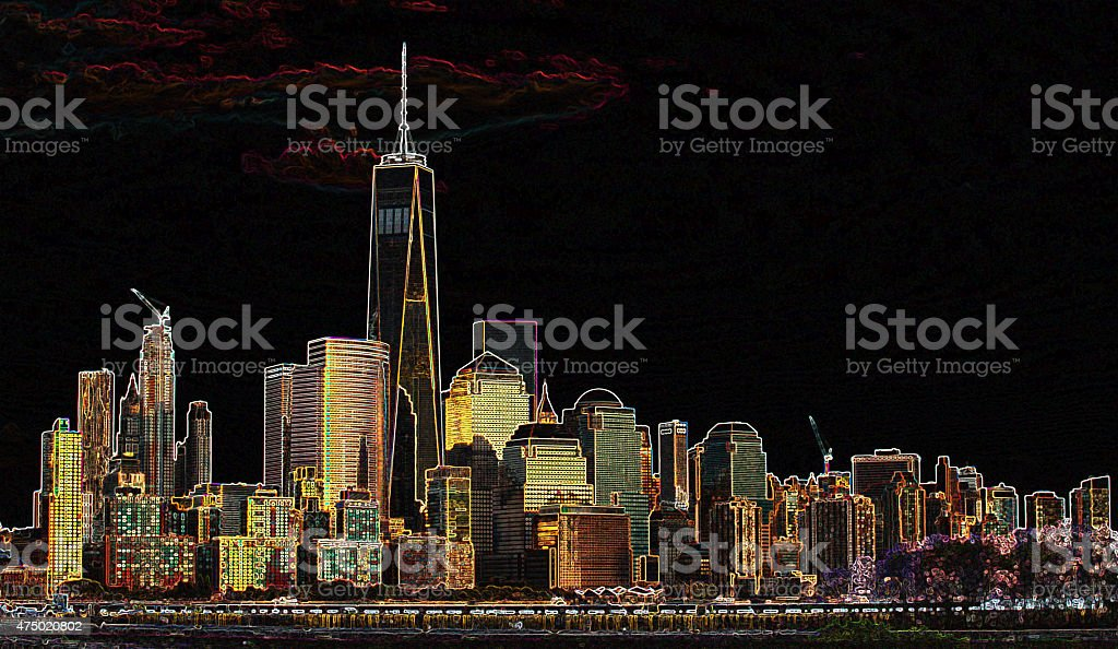One World Trade Center Collection stock photo