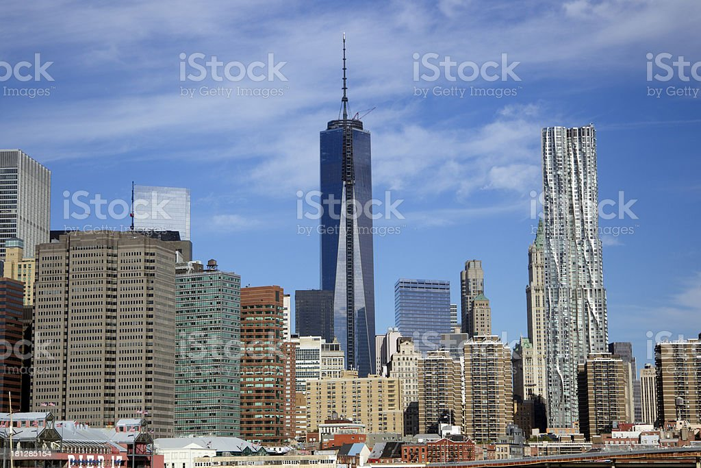 One World Trade Center royalty-free stock photo