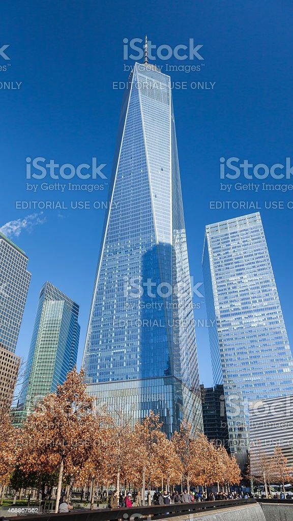 One World Trade Center stock photo