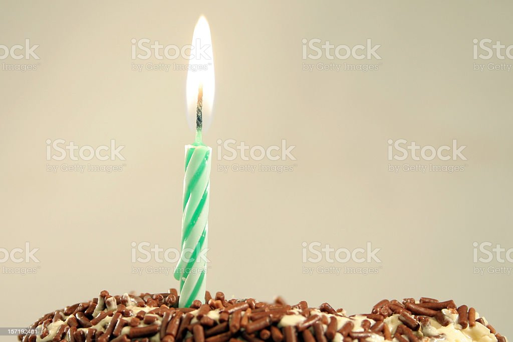 one year royalty-free stock photo