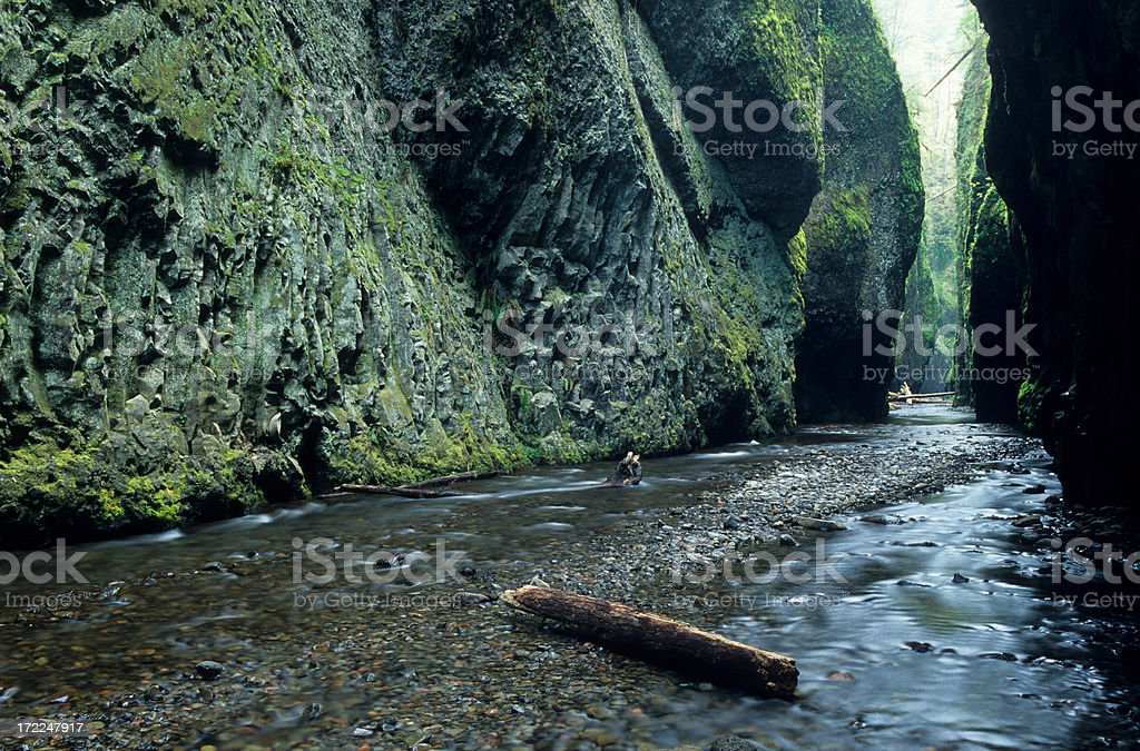 Oneota Gorge stock photo