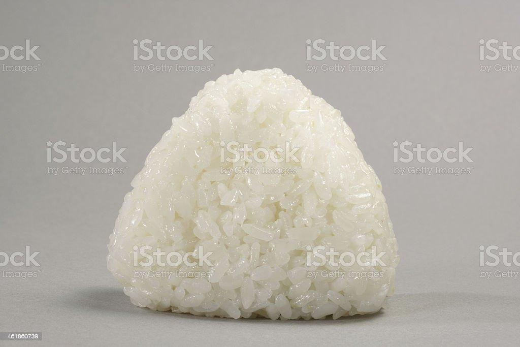 onigiri, rice ball stock photo