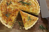 Onion, Bacon and Cheese Quiche