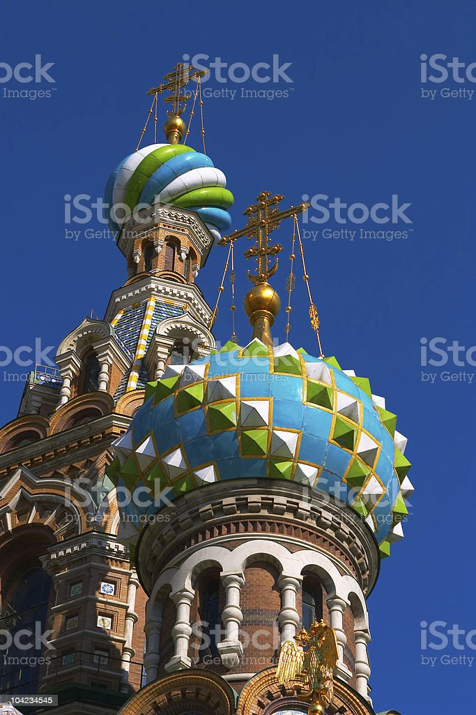 Onion Domes royalty-free stock photo