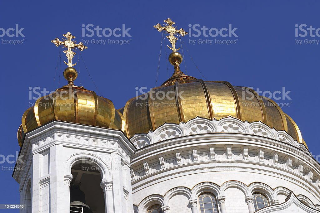 Onion Domes royalty-free stock photo