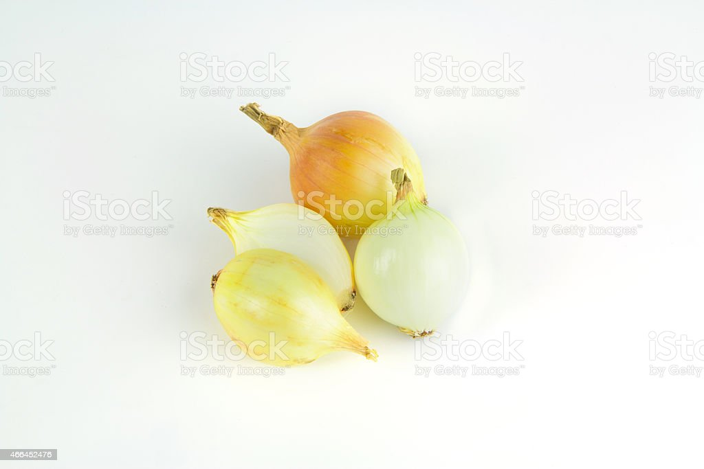 Onion isolated with white background royalty-free stock photo