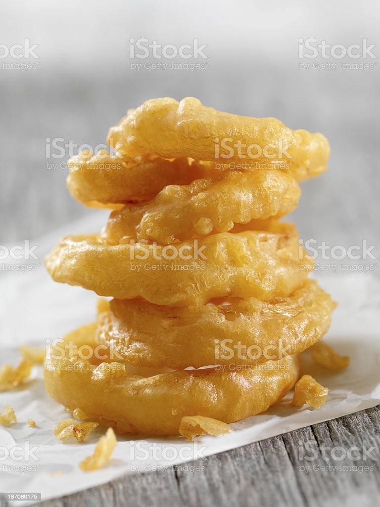 Onion Rings royalty-free stock photo