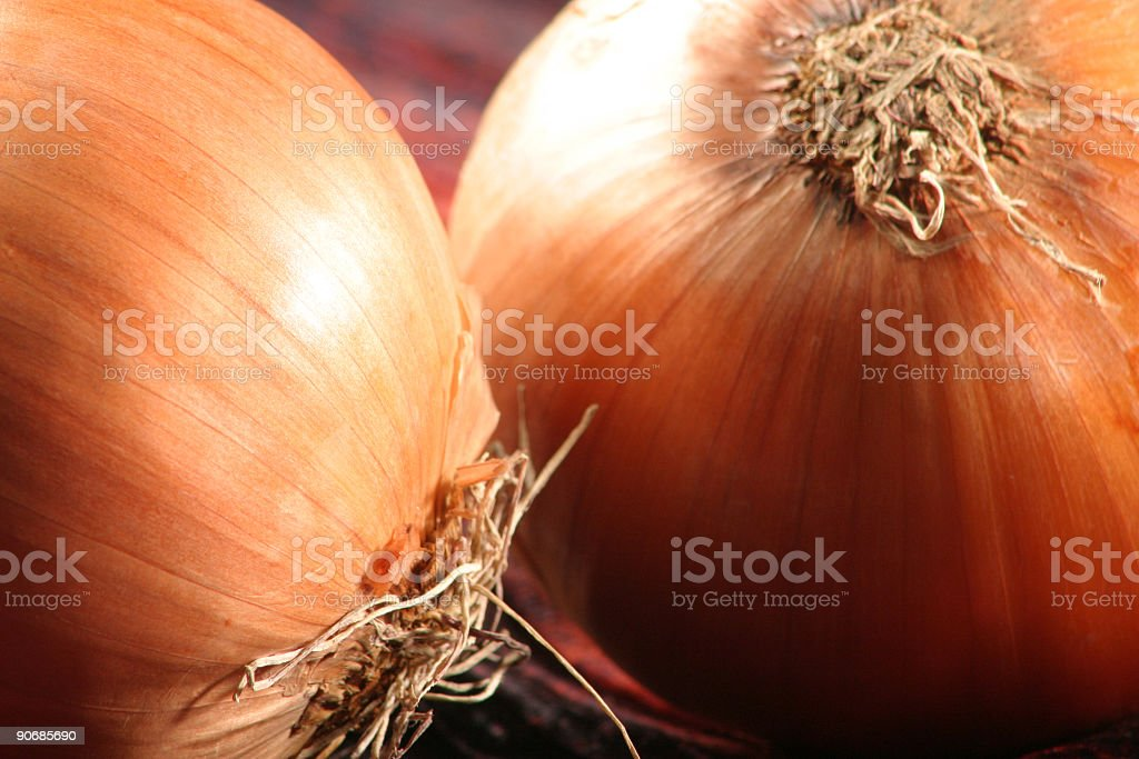 Onions Detail royalty-free stock photo