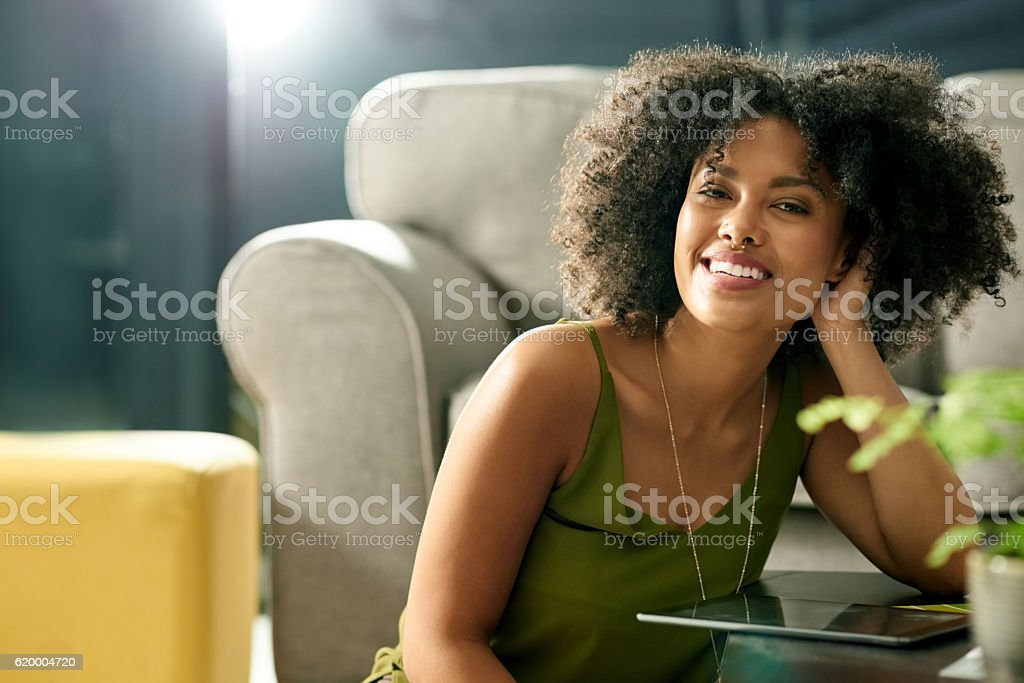 Online, anytime stock photo