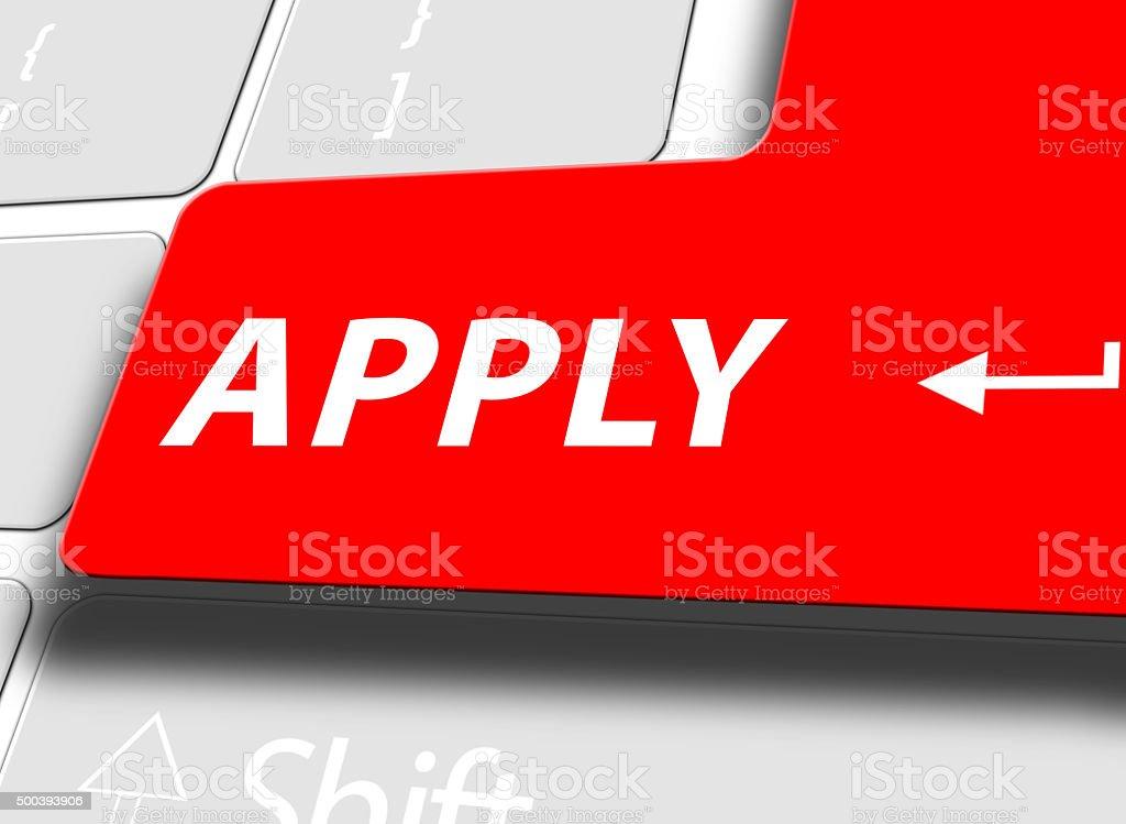 Online apply stock photo