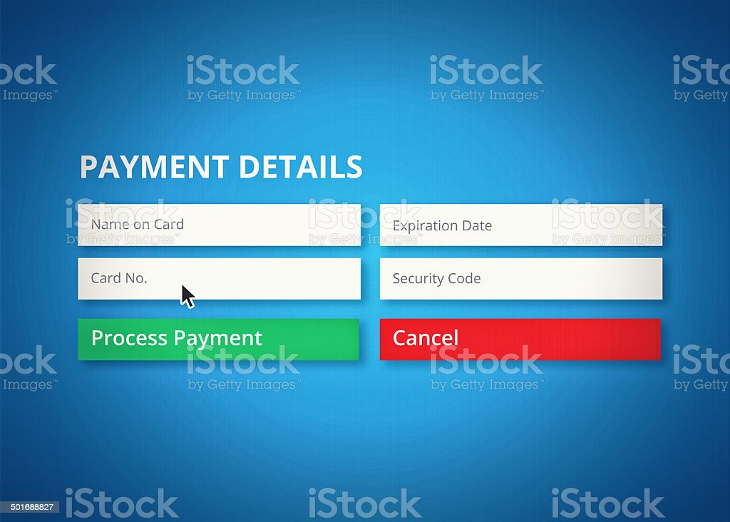 Online banking made easy stock photo