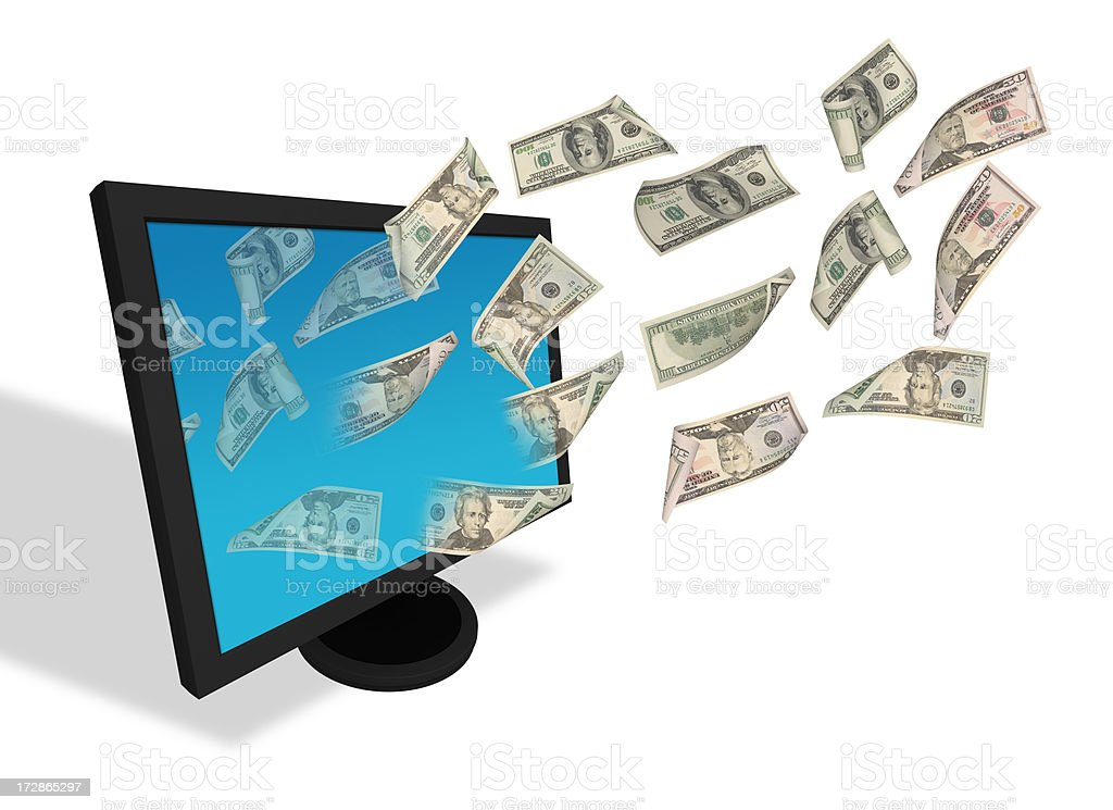 Online Banking royalty-free stock photo
