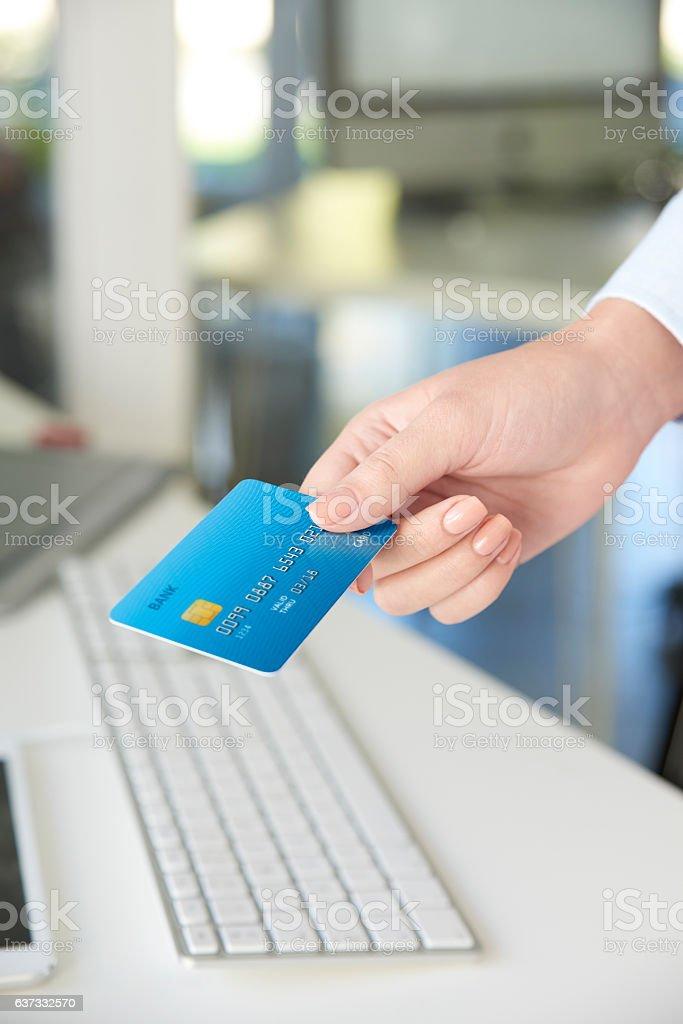 Online banking stock photo