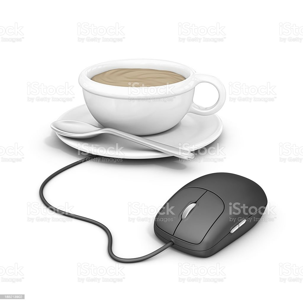 online caffe stock photo