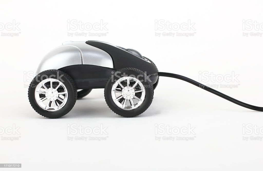online car royalty-free stock photo